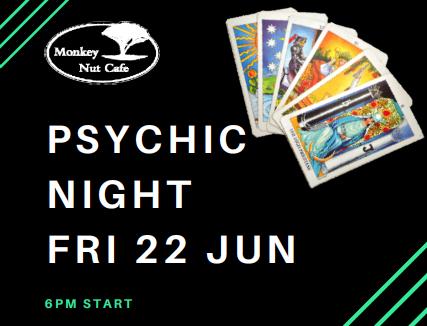 psychic night monkey nut cafe
